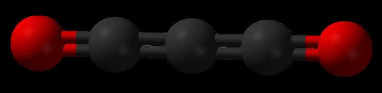 Carbon suboxide FileCarbonsuboxide3Dballspng Wikimedia Commons