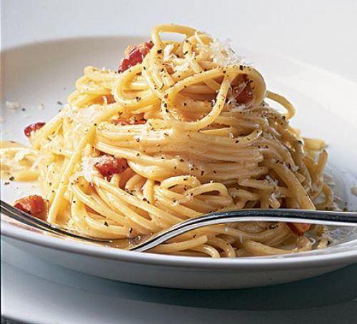 Carbonara Ultimate spaghetti carbonara BBC Good Food