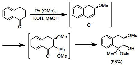 Carbonyl oxidation with hypervalent iodine reagents