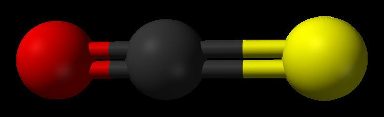 Carbonyl sulfide FileCarbonylsulfide3Dballspng Wikimedia Commons