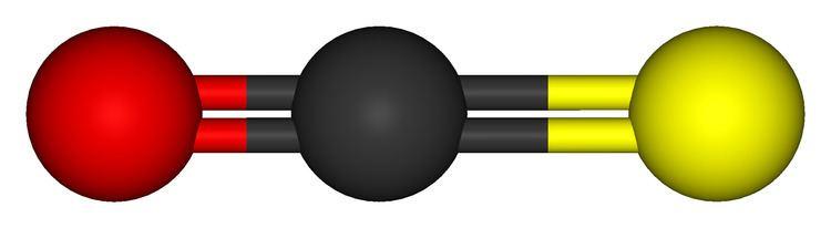 Carbonyl sulfide FileCarbonylsulfide3Dballstickpng Wikimedia Commons