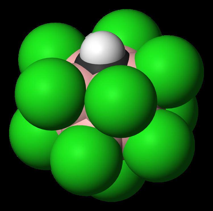 Carborane acid FileCarboraneacid3DvdWpng Wikimedia Commons