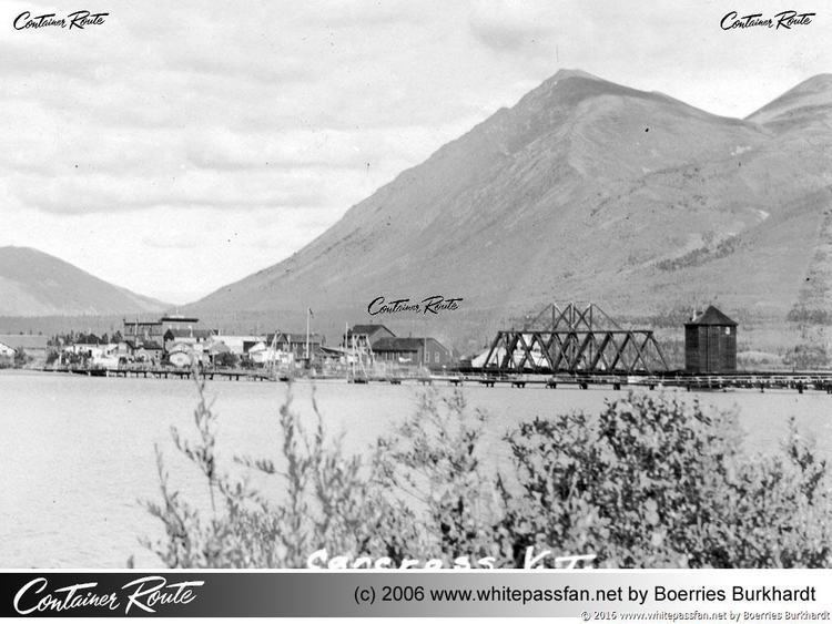 Carcross in the past, History of Carcross