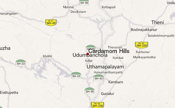 Cardamom Hills Cardamom Hills Mountain Information