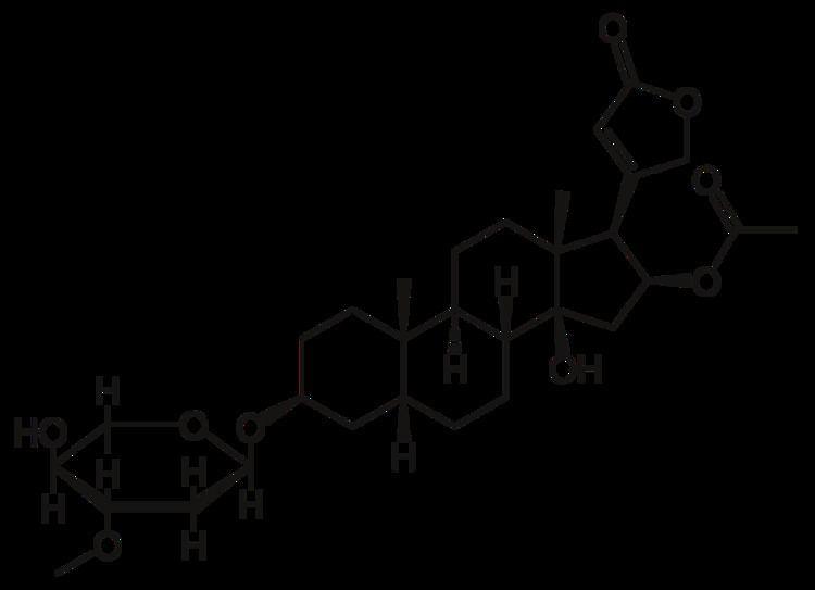 Cardiac glycoside