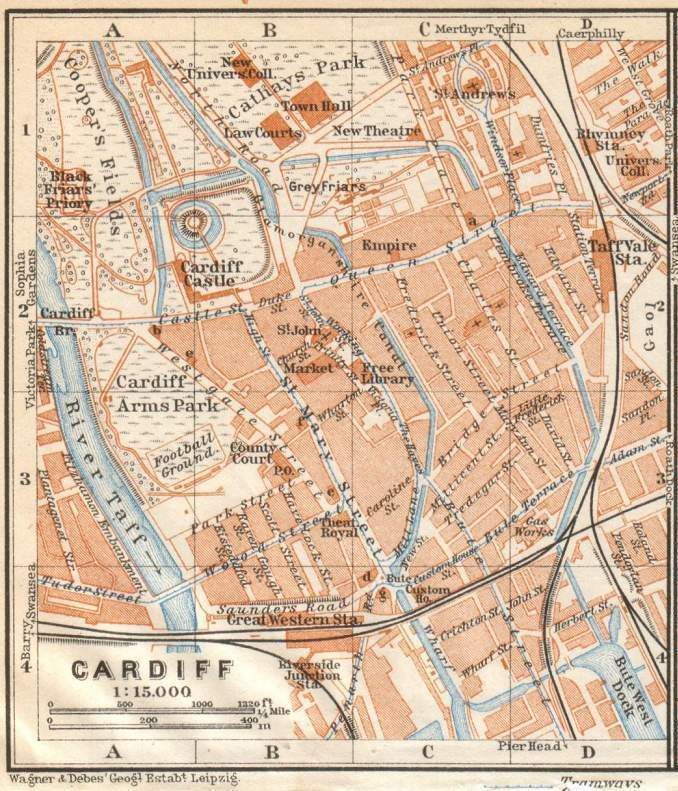 Cardiff in the past, History of Cardiff