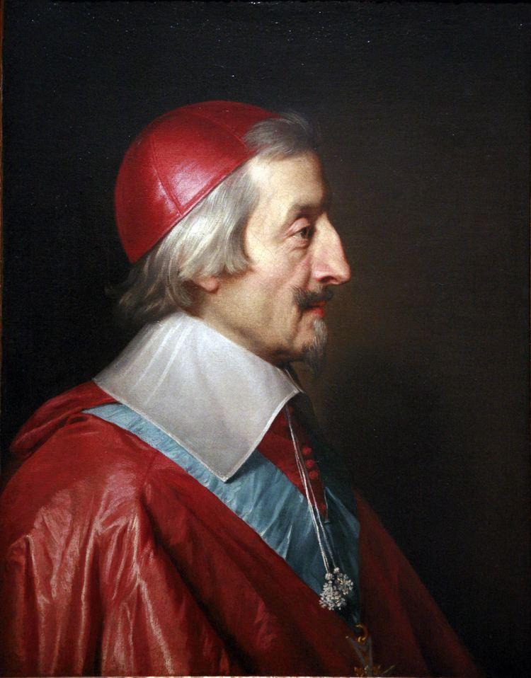Cardinal Richelieu Louis XIII of France Wikipedia the free encyclopedia
