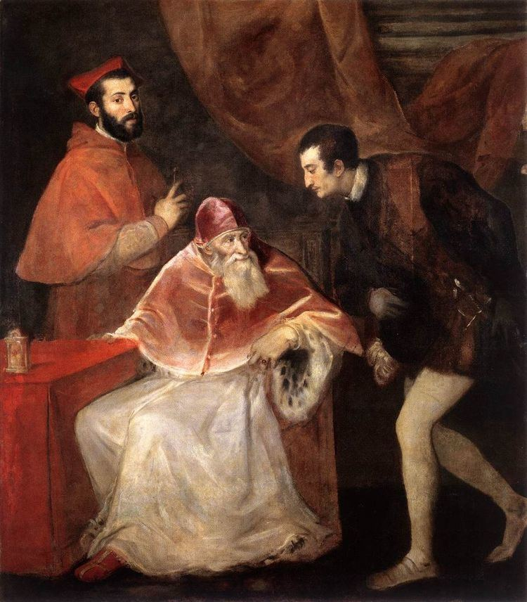 Cardinals created by Paul III