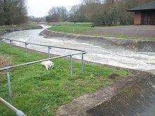 Cardington Artificial Slalom Course httpsuploadwikimediaorgwikipediacommonsthu