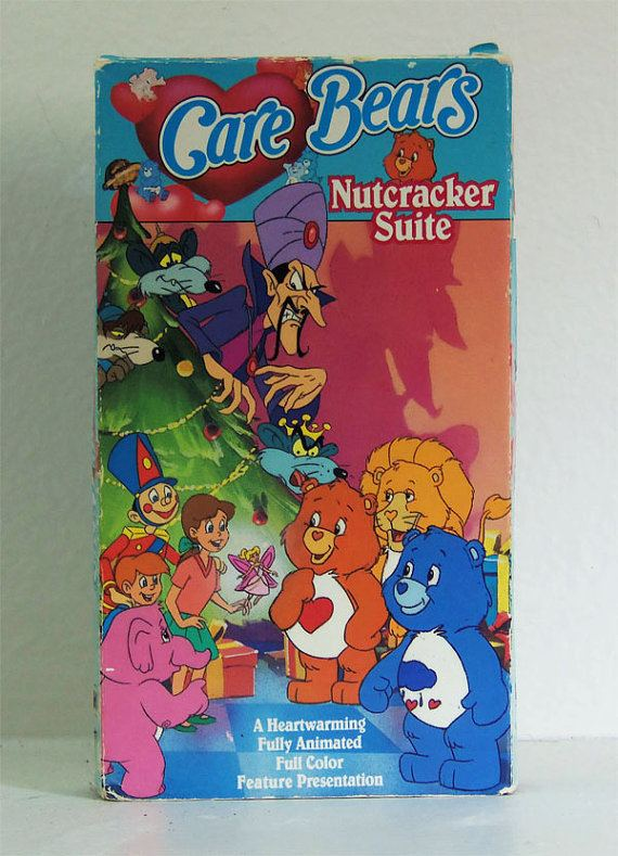 Care Bears Nutcracker Suite Care Bears Nutcracker Suite VHS Tape Vintage Care Bears
