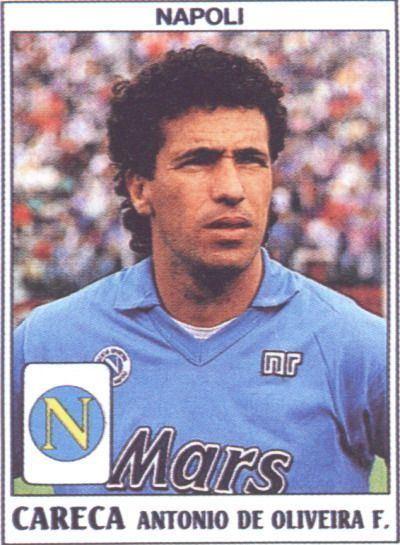 Careca 88 best SSC Napoli Card images on Pinterest Figurine Football
