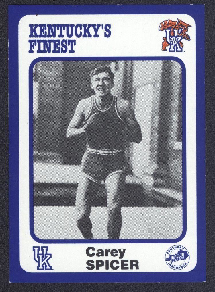 Carey Spicer Kentuckys Finest 54 Carey Spicer 192831 front Kentucky