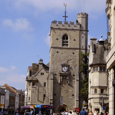 Carfax, Oxford Carfax Tower UK Boating Holidays Boat Hire River Thames