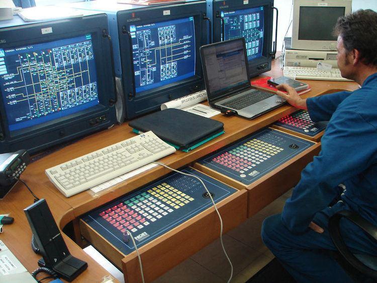 Cargo control room