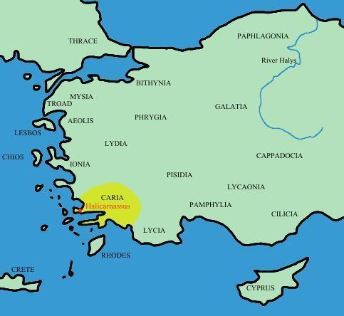 Caria Ancient Caria and Ionia
