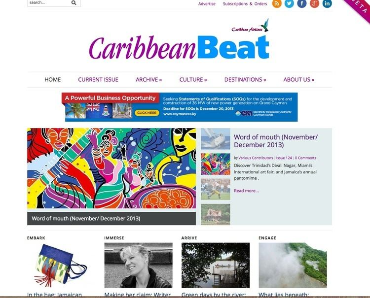 Caribbean Beat The top articles on Caribbean Beat and Discover Trinidad amp Tobago