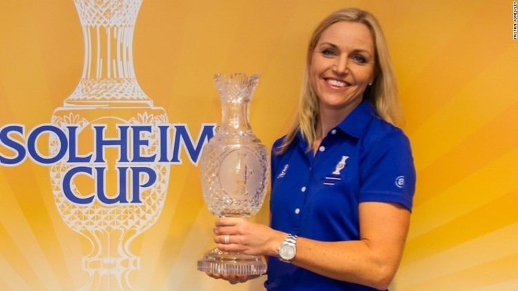Carin Koch Solheim Cup Carin Koch named Europe39s captain for 2015