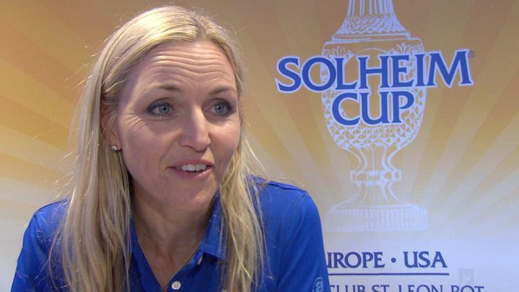Carin Koch 2015 Solheim Cup Carin Koch named European captain Golf