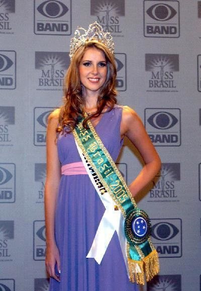 Carina Beduschi People39s Daily Online Miss Brazil 2005