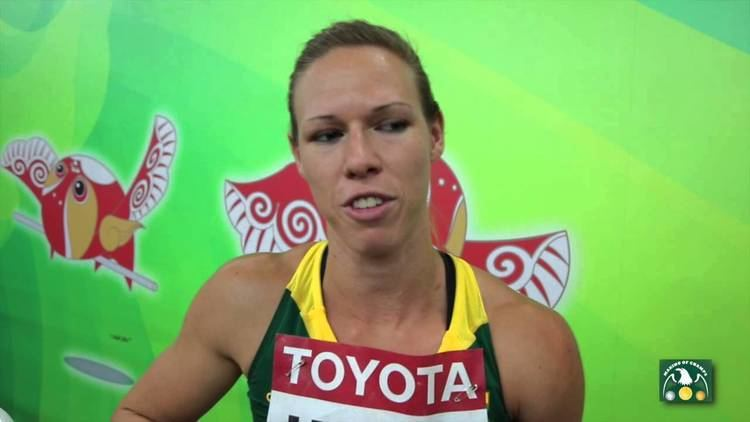 Carina Horn Carina HORN RSA 100m Heats IAAF 2015 Beijing World Championships