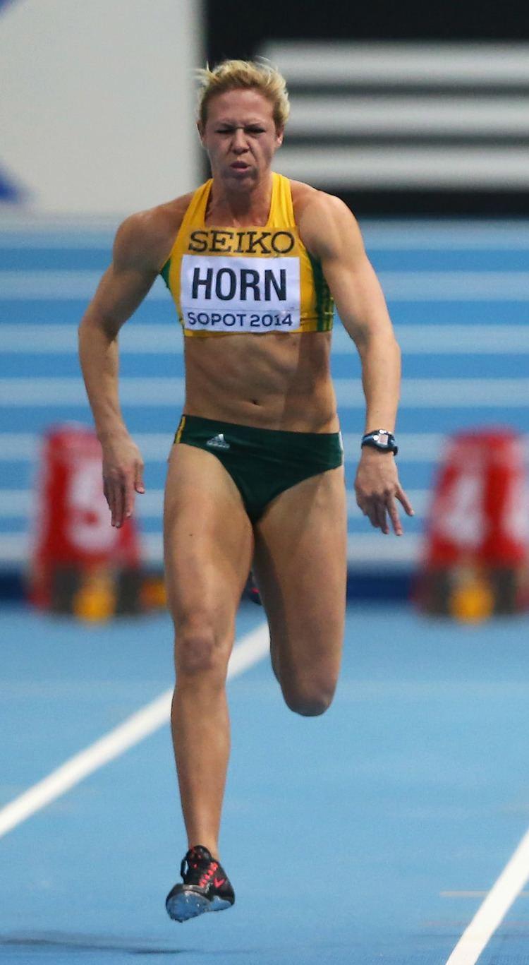 Carina Horn HORN EQUALS SA 100M RECORD All Athletics