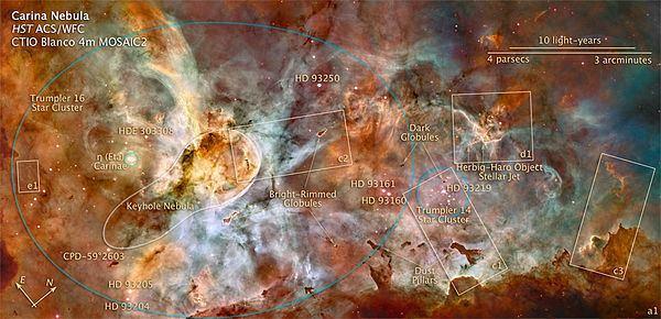 Carina Nebula Carina Nebula Wikipedia