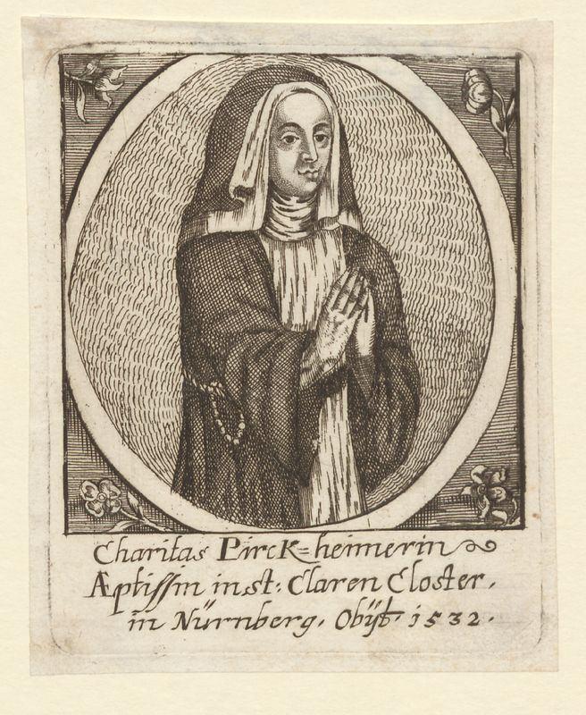 Caritas Pirckheimer Es geschah vor 550 Jahren Stadtarchive in der Metropolregion Nrnberg