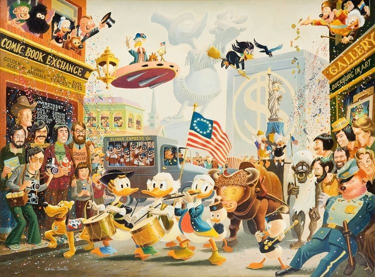 Carl Barks To Do Carl Barks art in NYC The Beat