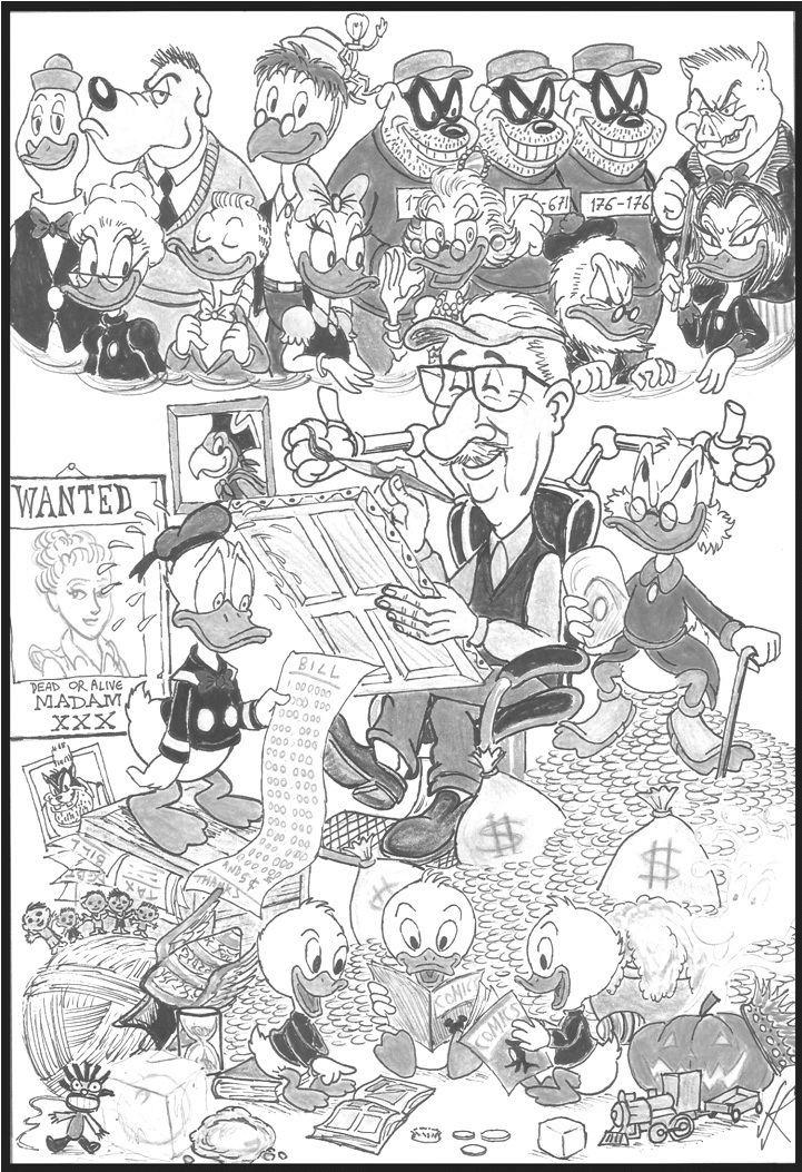 Carl Barks The Good Duck Artist Best Of Carl Barks by devilkais on DeviantArt