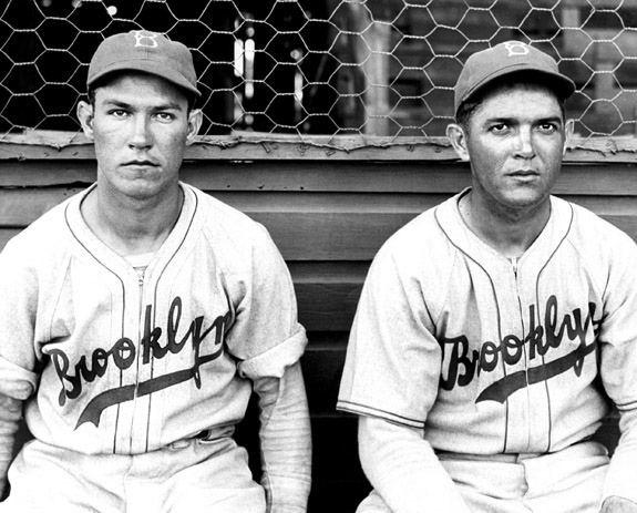 Carl Doyle Pete Reiser and Carl Doyle 1940 Brooklyn Dodgers Pinterest