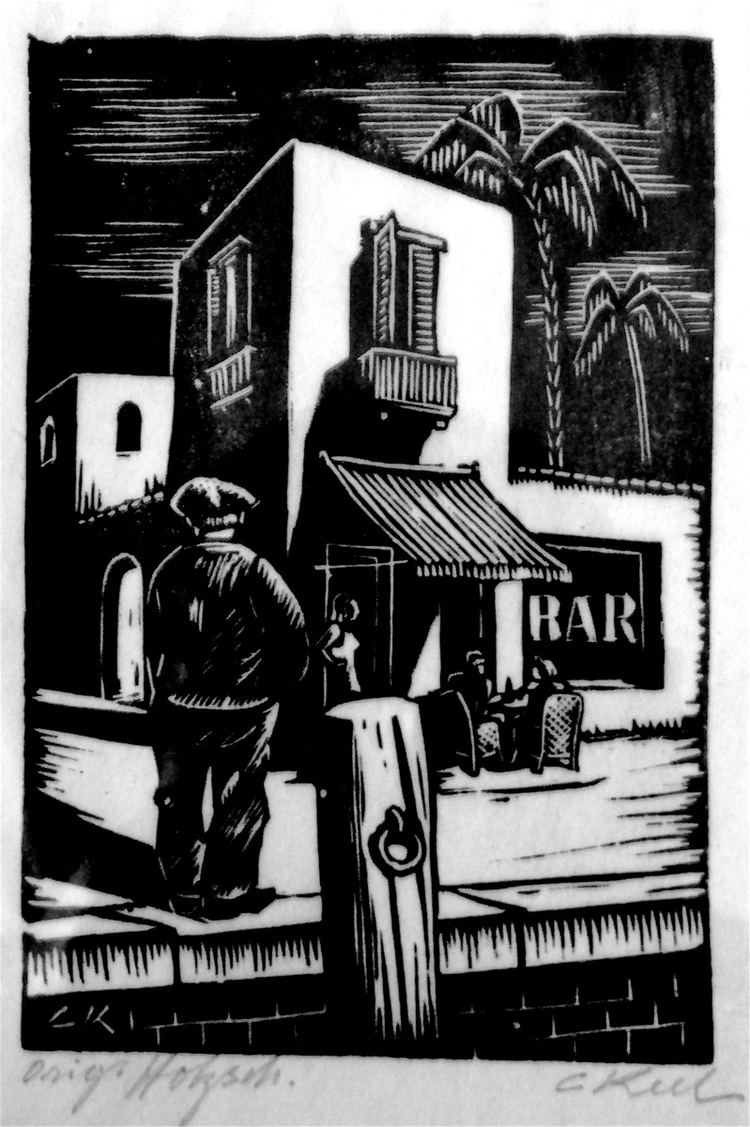 Carl Eugen Keel Bar lino cut Carl Eugen Keel Lino cut prints Pinterest Lino
