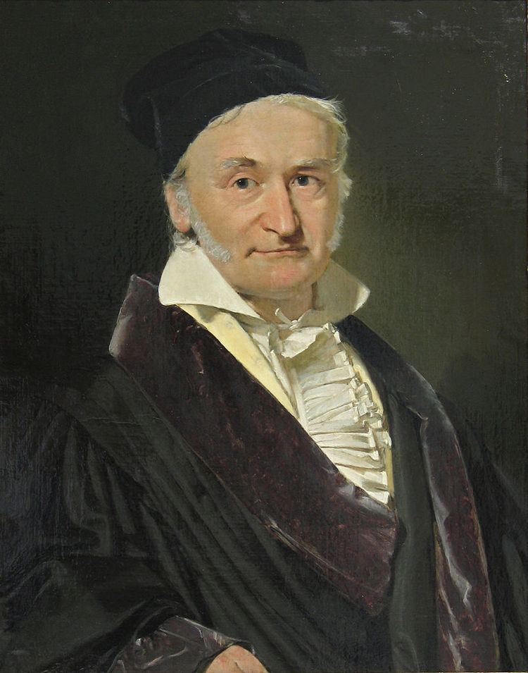 Carl Friedrich Gauss FileCarl Friedrich Gauss 1840 by Jensenjpg Wikimedia