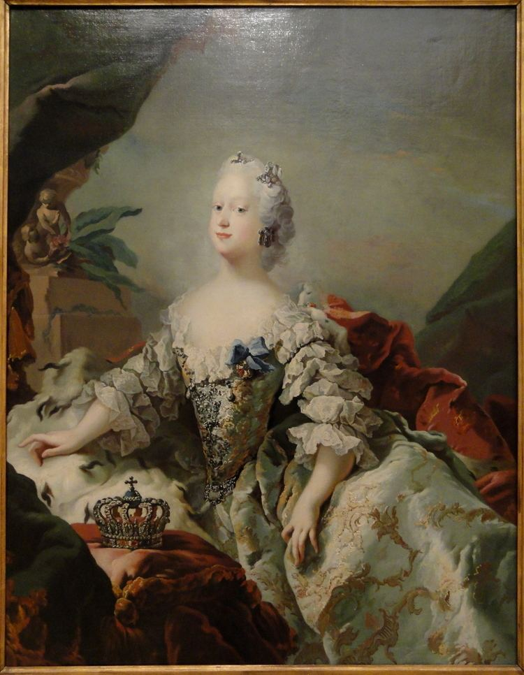 Carl Gustaf Pilo FileLouise Frederik V39s First Queen in her Coronation