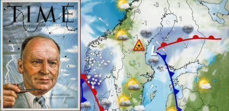 Carl-Gustaf Rossby CarlGustaf Rossby en av meteorologins giganter Nordfrontse