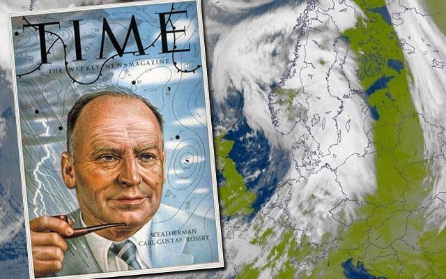 Carl-Gustaf Rossby CarlGustaf Rossby en av meteorologiens giganter Frihetskampnet