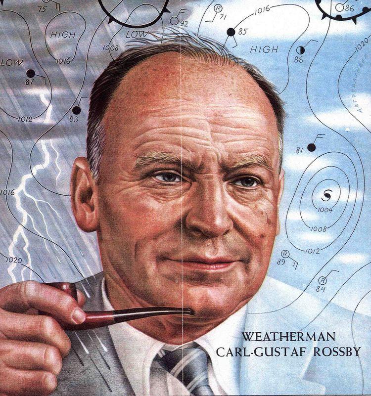 Carl-Gustaf Rossby Weatherman CarlGustaf Rossby by Boris Artzybasheff Tim Flickr