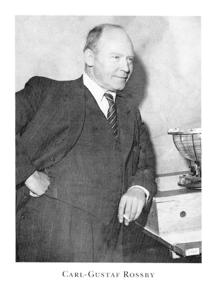 Carl-Gustaf Rossby CarlGustaf A Rossby Svenskt Biografiskt Lexikon