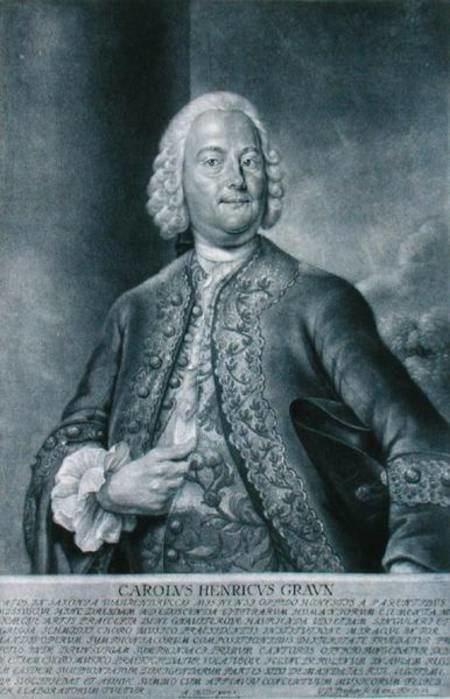 Carl Heinrich Graun Carl Heinrich Graun 170359 engraved b Andreas Moller