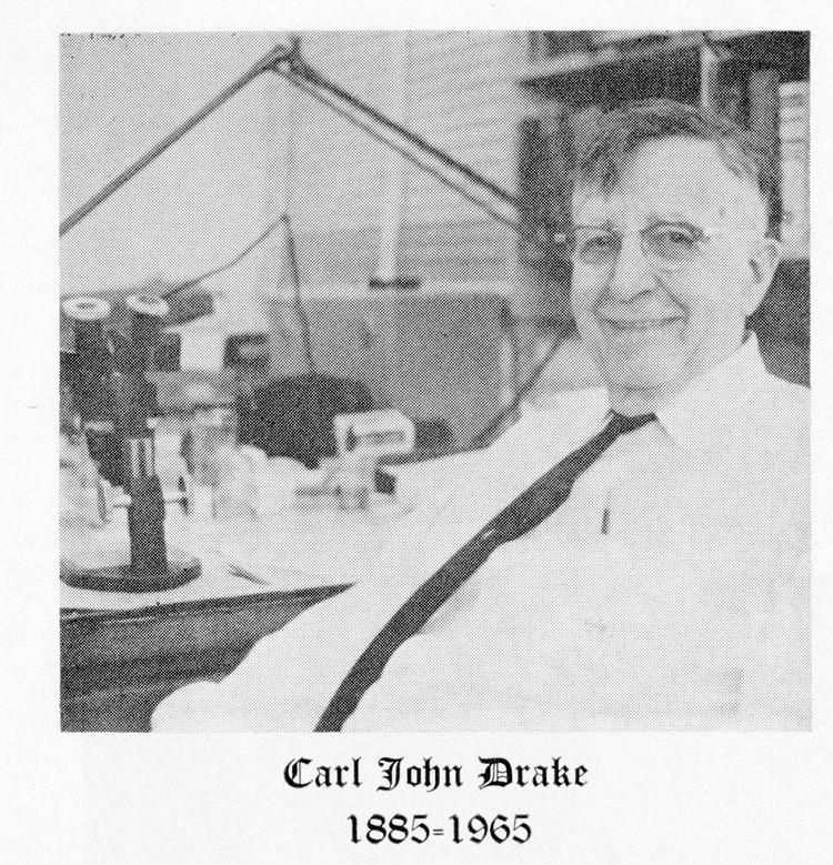 Carl John Drake Carl John Drake 18851965 Smithsonian Institution Archives