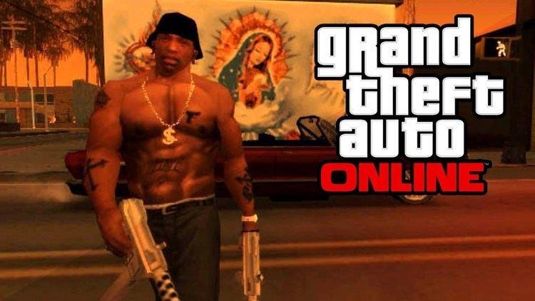 Carl Johnson (Grand Theft Auto) GTA 5 Online Secret CJ Easter Egg GTA San Andreas quotCarl Johnson