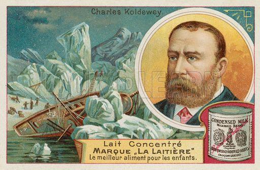 Carl Koldewey Carl Koldewey German Arctic explorer Look and Learn History