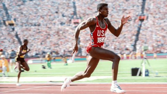 Carl Lewis Carl Lewis Long Olympic Run Paved With Gold Golf Track Field