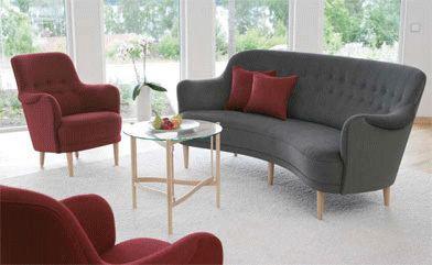 Carl Malmsten Retro To Go Carl Malmsten Samsas sofa and easy chair