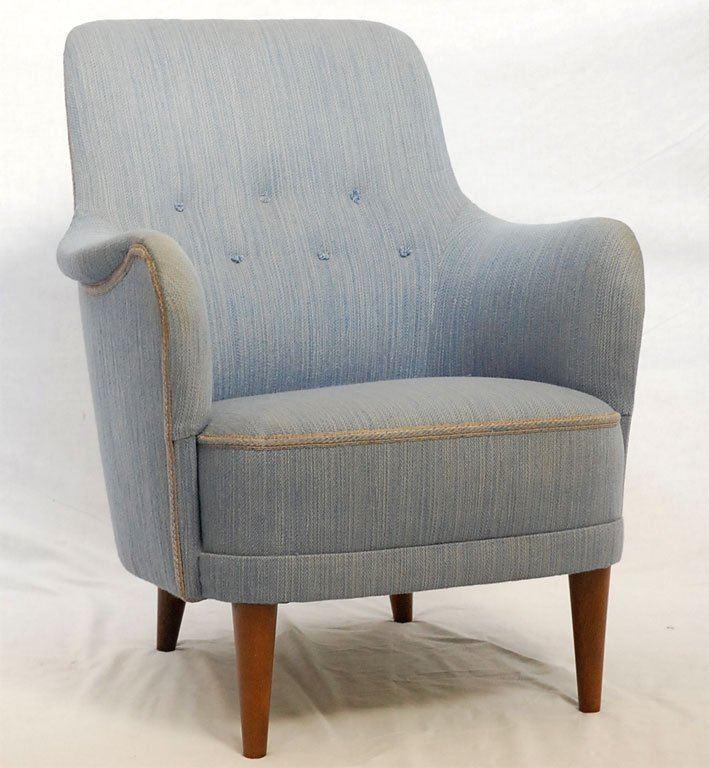 Carl Malmsten Carl Malmsten Armchair For Sale at 1stdibs
