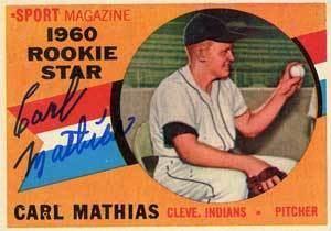Carl Mathias Carl Mathias Baseball Stats by Baseball Almanac