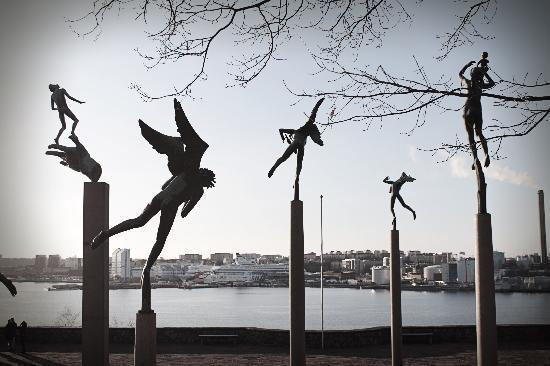 Carl Milles Les Anges de Carl Milles avec vue sur Stockholm Picture