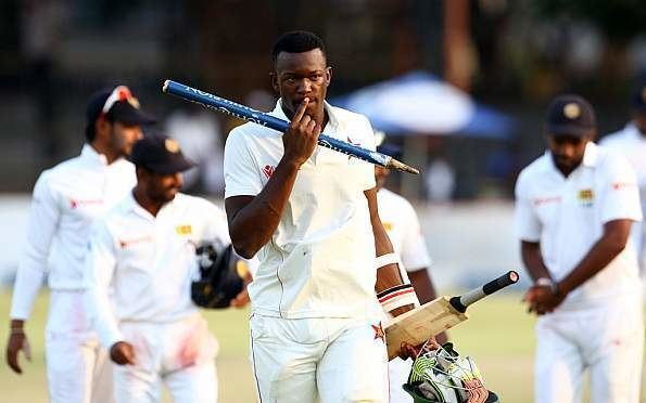 Carl Mumba Carl Mumba named in Zimbabwe squad for triseries Cricbuzzcom