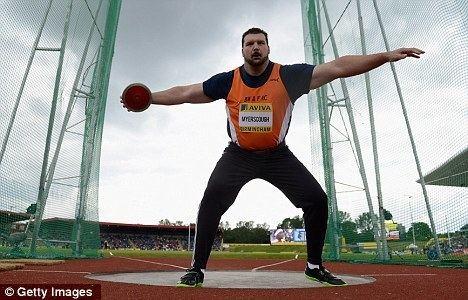 Carl Myerscough London 2012 Olympics Drugs cheat Carl Myserscough first