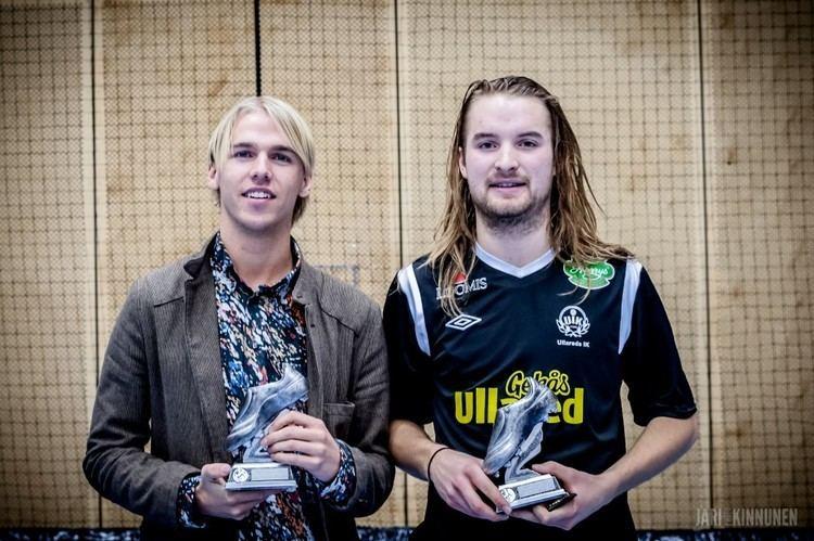 Carl-Oscar Andersson klubbanifboljannu Nyrscupen 2014