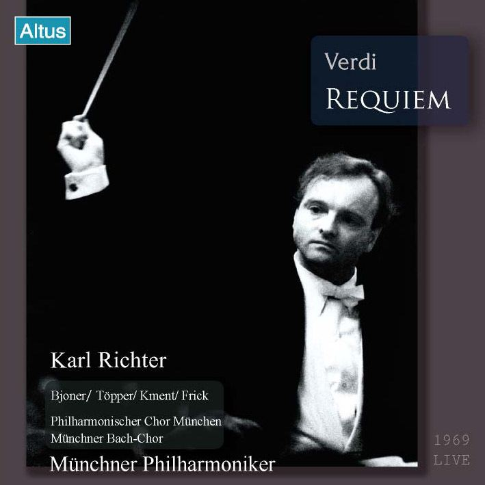 Carl Richter Karl Richter MPhil Verdi Requiem 2CD Altusmusiccom
